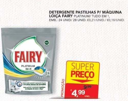 Acumulação Super-Preço + Vale | CONTINENTE | Fairy