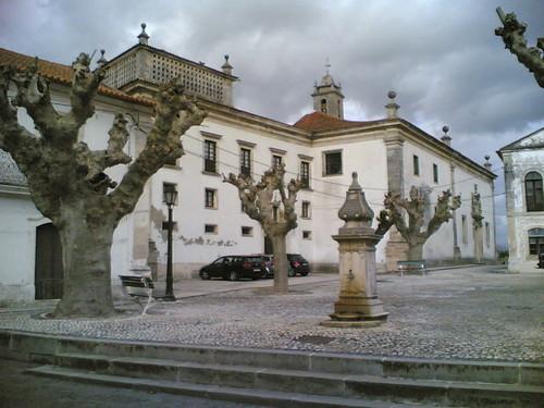 Convento de Tentúgal: Praça