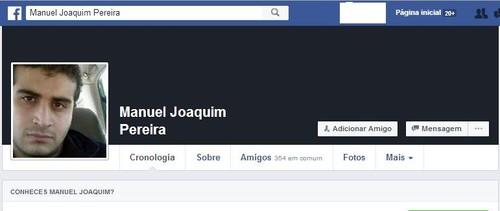 Omar Mateen fake Facebook profile Manuel Joaquim P