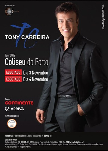 Concerto no Coliseu do Porto 2012