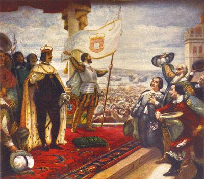 Proclamação de D. João IV como rei de Portugal,