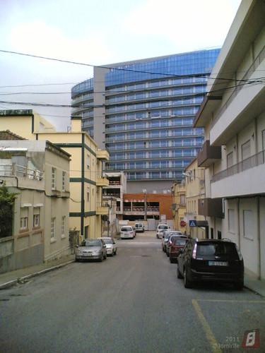 Figueira da Foz - Novo hotel visto das ruas