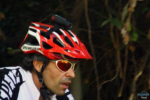 BTT XCM 2012 Montemor (252) Câmara no capacete