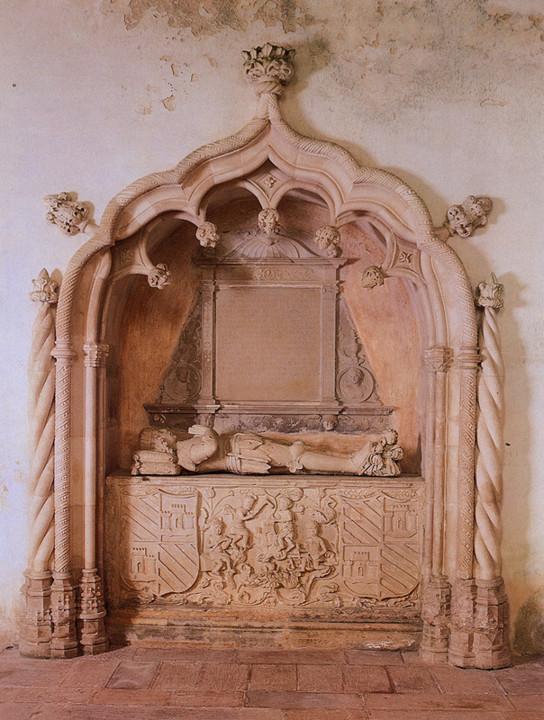 Convento de Nossa Senhora dos Anjos. Túmulo de Di