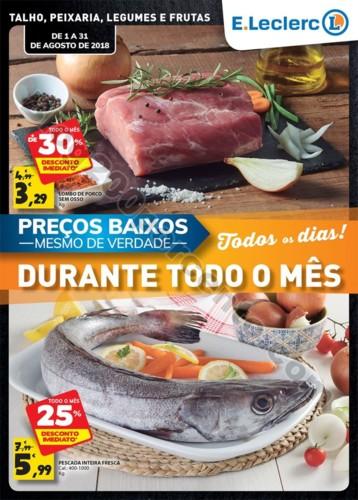 Antevisão Folheto E-LECLERC Frescos Promoções d