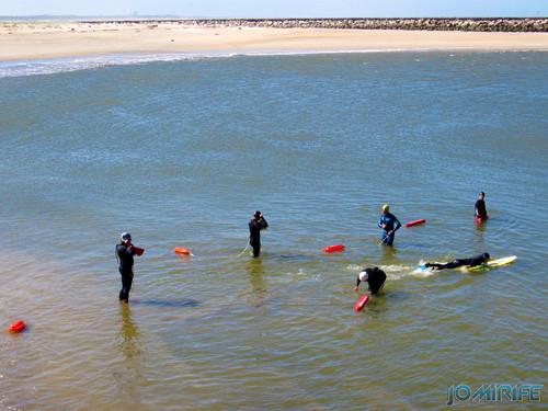 Nadadores salvadores a treinar na Figueira da Foz