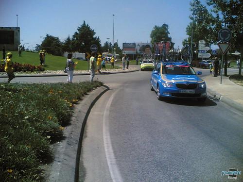 Volta a Portugal em Bicicleta 2012 Carro OBREA