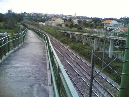 Passagem aérea sobre linha de comboio, Alfarelos