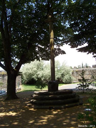 Castelo de Bragança: Pelourinho onde decapitavam