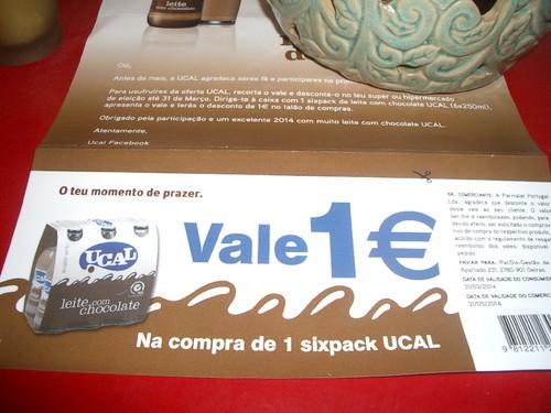 Amostras UCAL - 2014 Vales de desconto 1€  - TERMINOU 16627058_6p59Z