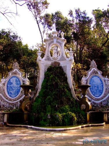 Coimbra - Parque de Santa Cruz, Jardim da Sereia - Fonte (1) [en] Coimbra - Santa Cruz Park, the Mermaid Garden - Fountain