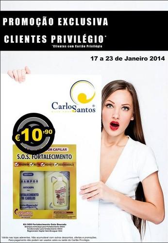 Promoção | CARLOS SANTOS HS | de 17 a 23 janeiro