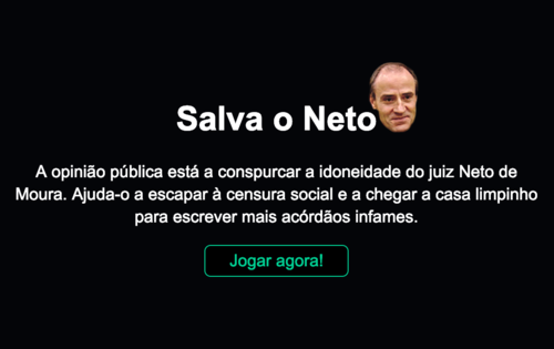 Jogo Juiz Neto de Moura
