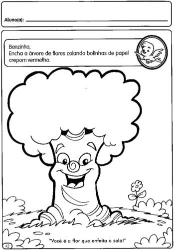 Plano de aula para a creche