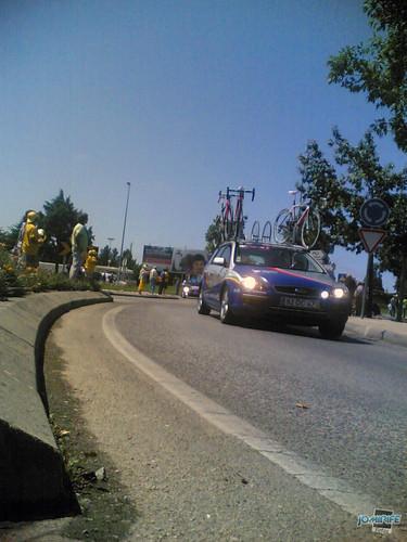 Volta a Portugal em Bicicleta 2012 Carros