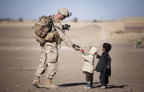 soldier children