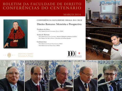 Audiovisual Conferência Guilherme Braga da Cruz