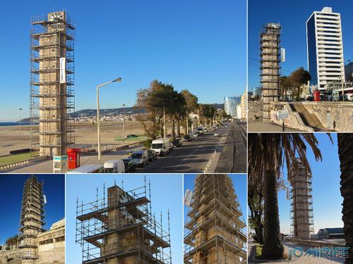 Figueira da Foz: Torre do relógio de praia vai ter obras