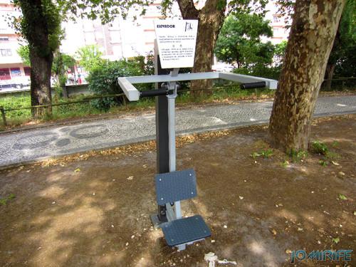 Jardim do Polis Leiria (Centro) - Circuito de Manutenção Física (9) Elevador [en] Polis Garden of Leiria, Portugal