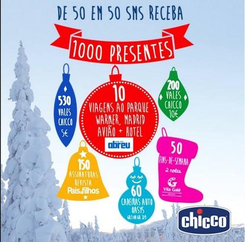 Promoção / Passatempo de Natal | CHICCO | , até 8 dezembro