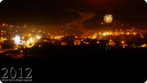 1 de janeiro de 2012 Vale de Cambra, fogo de artificio em Sandiaes_2
