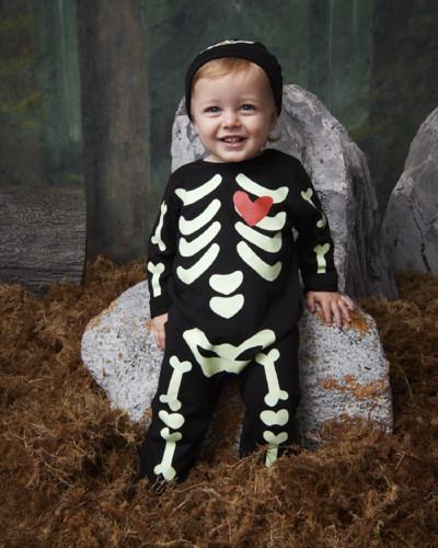 Primark Halloween nbb skeleton sleepsuit, E8 $9.jp