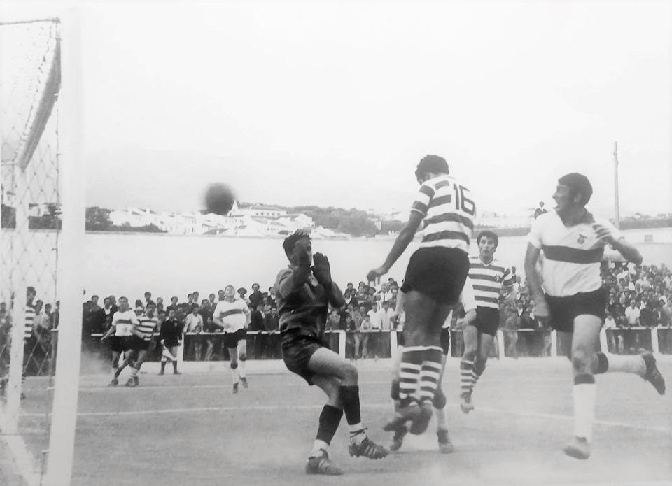 Lusitânia - Sporting Agosto 1970 estreia de F. To