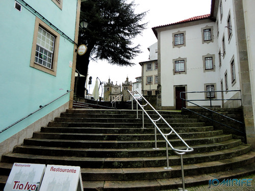 Viseu (19) Escadas para a Sé na Rua do Arvoredo [en] Viseu - Stairs to the cathedral in the Grove Street