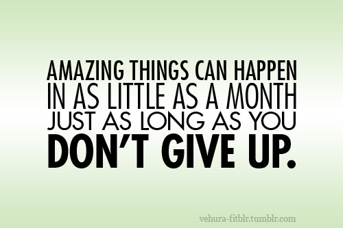 Não vou desistir