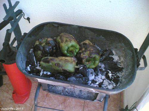 Sardinhada - Pimentos