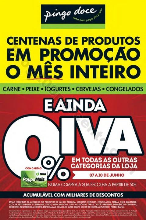Antevisão Folheto PINGO DOCE Fim de semana 7 a 10