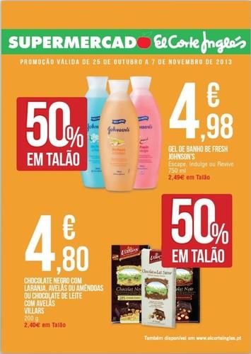Novo Folheto | EL CORTE INGLÉS | Supermercado