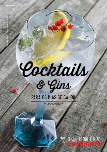 Antevisão Folheto CONTINENTE Cocktails promoçõe