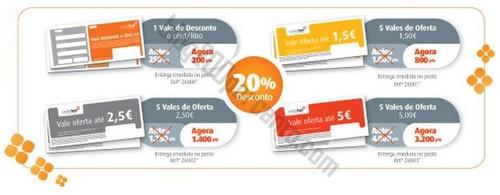 Novas promoções GALP - Vales de 20% de desconto em combustíveis