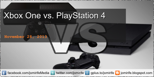 Blog Post: Xbox One (Microsoft) vs PlayStation 4 (Sony)