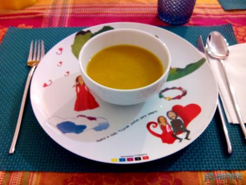 Bimby - Sopa de corteje e cenoura [en] Carrot soup