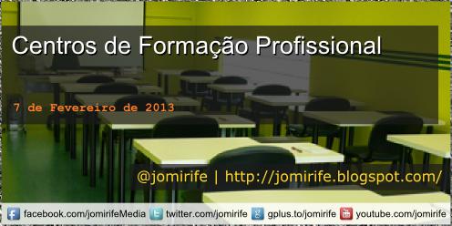 Blog Post: Lista Centros Formação Profissional