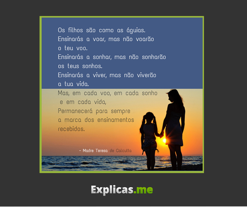 Frases De Madre Teresa De Calcutá No Facebook Os Filhos São Como
