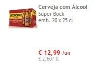 Super Preço   CONTINENTE   Cerveja Super Bock