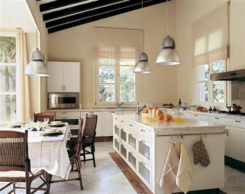 Cozinhas brancas com ilha decora o e ideias for El mueble cocinas