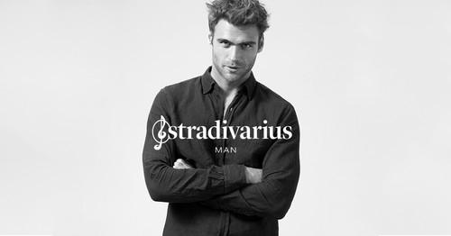 George Alsford é o rosto da Stradivarius Man