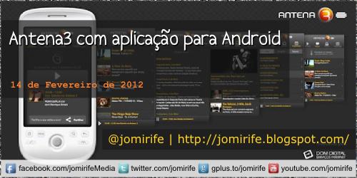 Blog: Antena3 com aplicação para Android