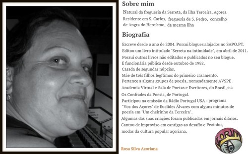 """Rosa Silva """"Azoriana"""""""