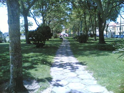 Buarcos: Jardim Parque Dr. Fernando Traqueia (Este