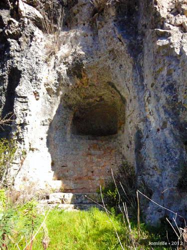 Serra de Sicó: Buraco e escadas na rocha