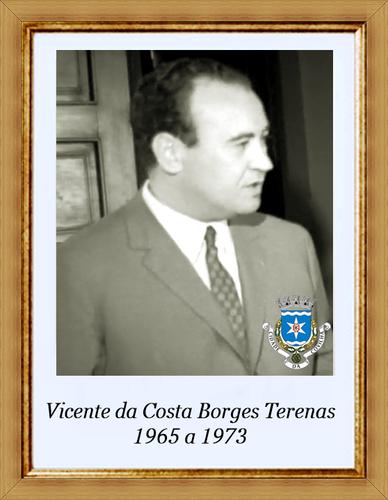 Vicente da Costa Borges Terenas - 1965 a 1973 - em