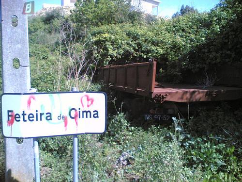 Camioneta abandonada em Feteira de Cima, Fig.Foz