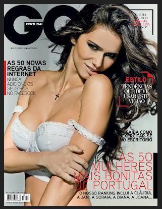 Claudia Vieira capa da GQ