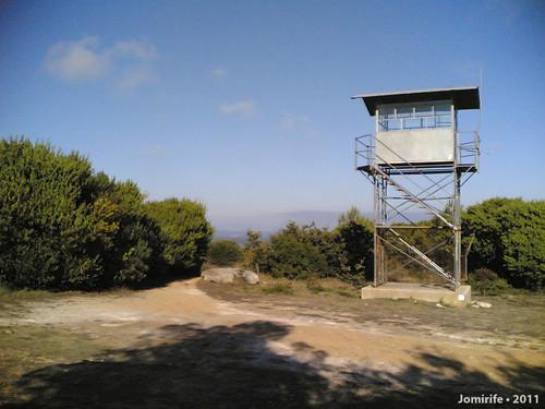 Torre de vigia no Miradouro da Bandeira (Fig Foz)