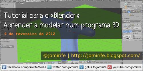 Blog: Tutorial para o Blender 3D